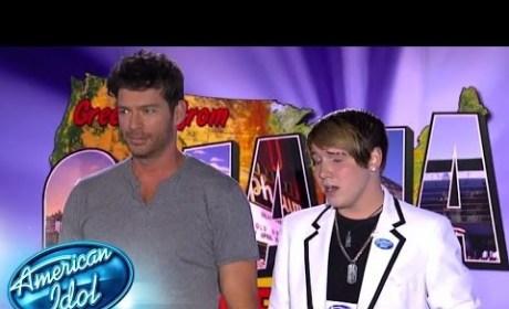C.J. Jones American Idol Audition