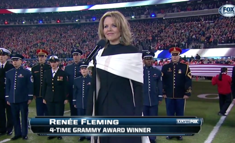 Renée Fleming National Anthem Performance: Grade It!
