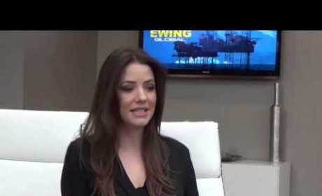 Julie Gonzalo Set Interview