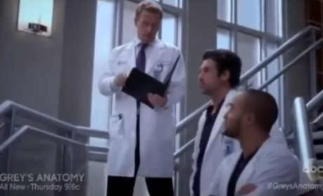 Grey's Anatomy Sneak Peeks: Love Is Not in the Air