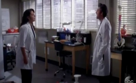 Grey's Anatomy Sneak Peek: Callie vs. Derek!