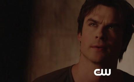 The Vampire Diaries Clip - Threatening Damon