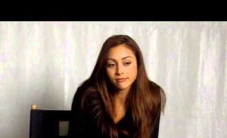 Lindsey Morgan Set Interview