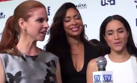 Sarah Rafferty, Gina Torres and Meghan Markle Interview