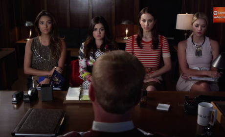 Pretty Little Liars Sneak Peeks: Who Did It?