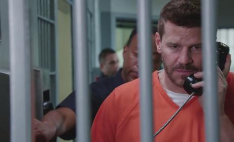 Bones Season 10 Footage: Booth in Jail!