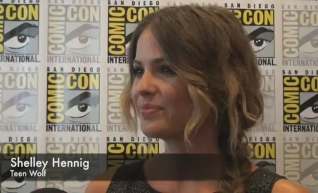 Shelley Hennig Comic-Con Interview