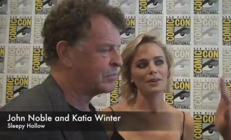 John Noble and Katia Winter Interview