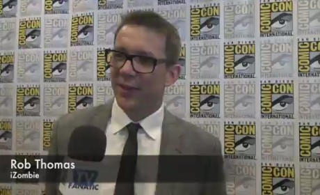 Rob Thomas Comic-Con Interview