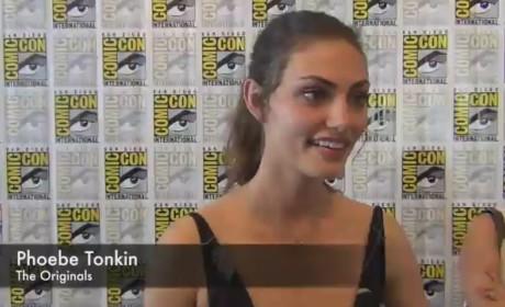 Phoebe Tonkin Comic-Con Q&A