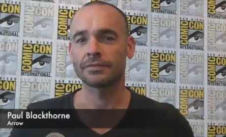 Paul Blackthorne Comic-Con Interview