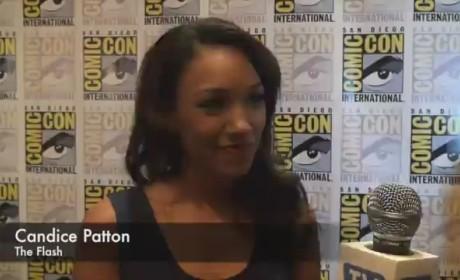 Candice Patton Comic-Con Q&A