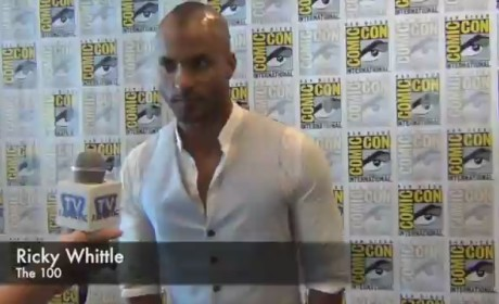 Ricky Whittle Interview