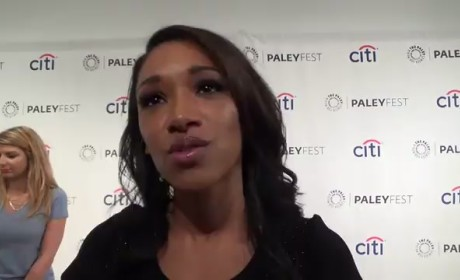 Candice Patton Teases The Flash