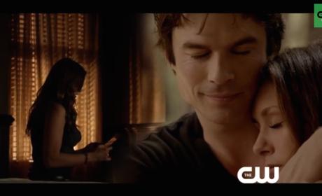 The Vampire Diaries Season 6 Trailer: Look Who's Kissing Stefan!