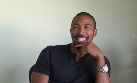 Charles Michael Davis LOVES Morgan Freeman