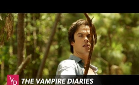 The Vampire Diaries Sneak Peek: Why is Damon So Happy?