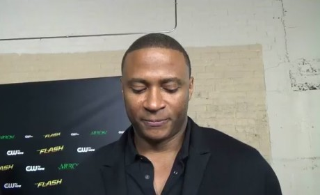 David Ramsey Red Carpet Interview