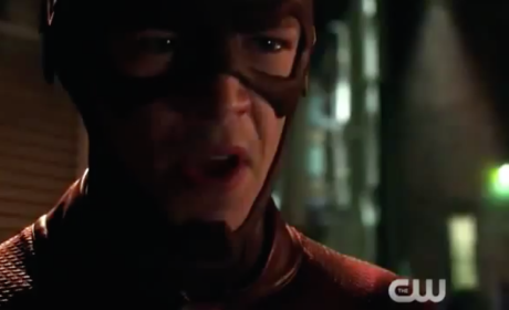 Flash vs. Arrow Promo