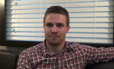 Stephen Amell Set Visit Interview