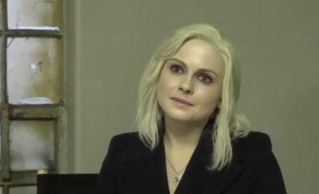 Rose McIver Set Interview