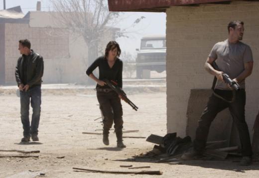 Sarah, Derek, and Charley