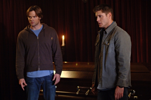 Sam, Dean and a Casket