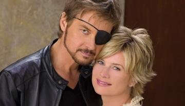 Mary Beth Evans and Stephen Nichols
