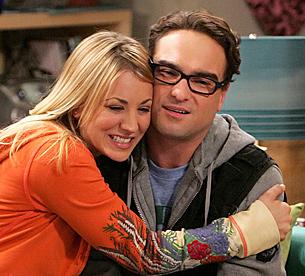Penny and Leonard