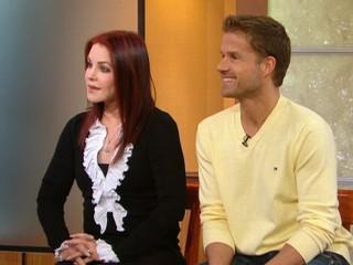 Priscilla Presley and Louis van Amstel