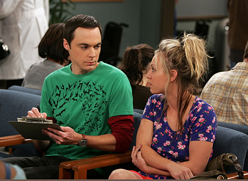 Sheldon Helps Penny