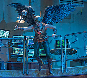 Michael Shanks as Hawkman