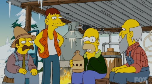 Homer and Moonshine