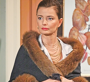 Paulina Porizkova on ATWT
