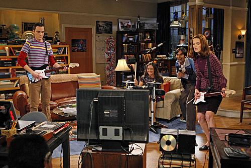 Raj, Sheldon Play Rock Band