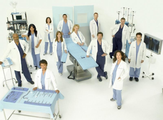 Grey's Anatomy Cast Photo: Season Five