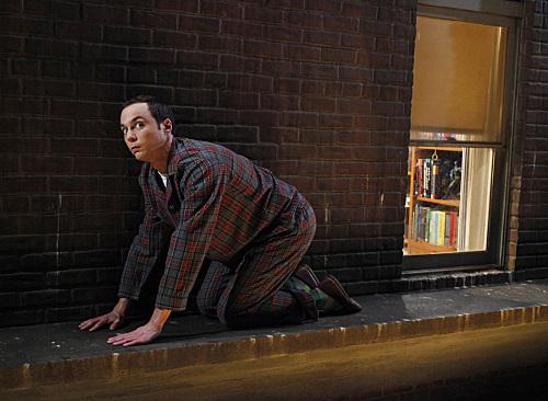 Sheldon on a Ledge