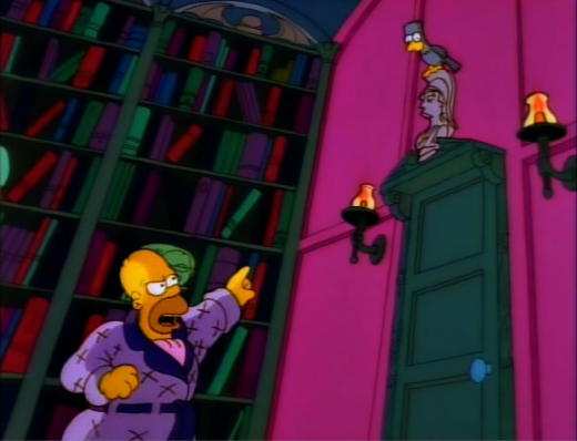 The Simpsons do The Raven