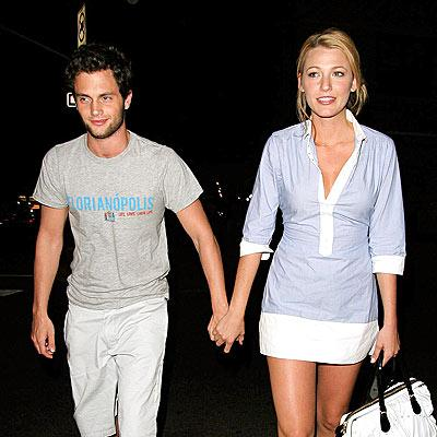Blake Lively and Penn Badgley Pic