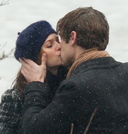 Nate and Blair Kiss!