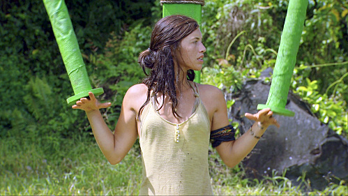Parvati Competes in the Challenge