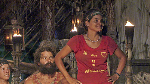 Sandra Shocks the Survivors