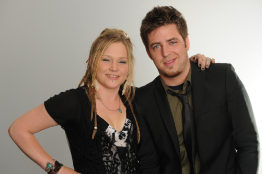 Crystal Bowersox and Lee DeWyze