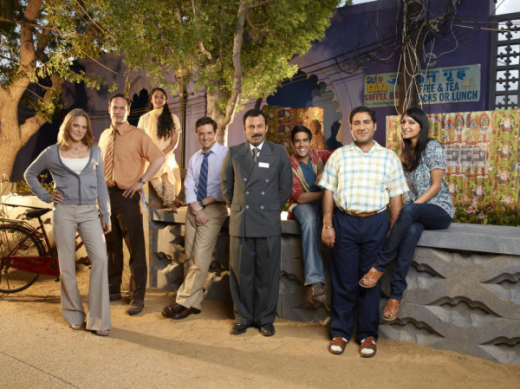 Outsourced Cast Photo