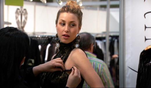 Modeling Her Line