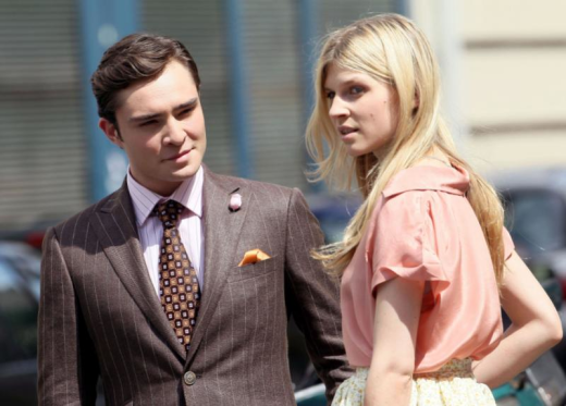 Clemence Poesy and Ed Westwick