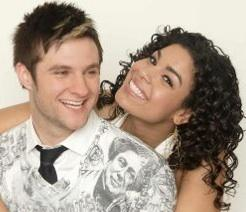 Blake Lewis and Jordin Sparks