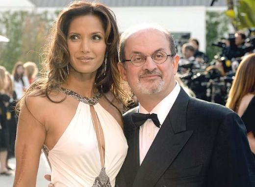 Padma Lakshmi, Salman Rushdie
