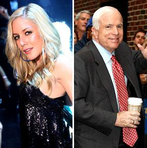 John McCain, Heidi Montag