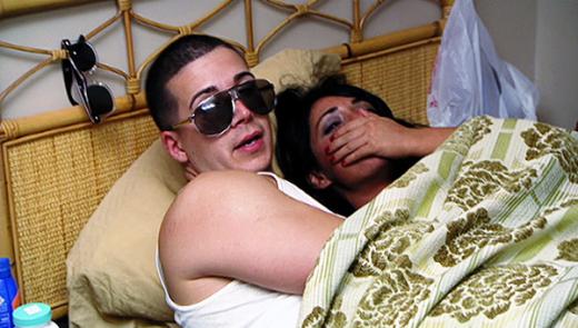 Angelina and Vinny Smush